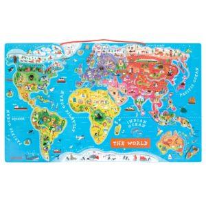 Magnetická mapa světa Janod