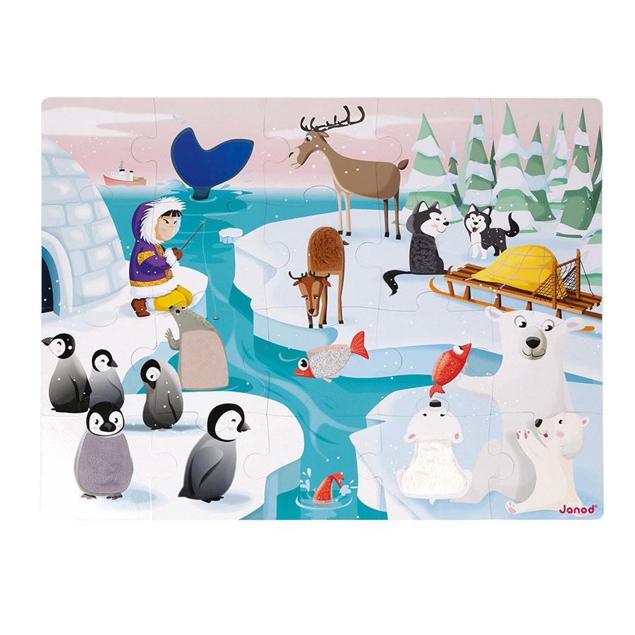 Puzzle Janod Život na ledové kře