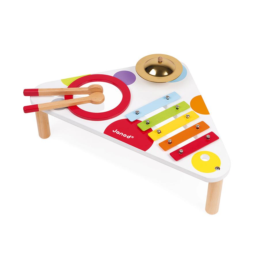 Dětský hudební stolek Confetti Janod