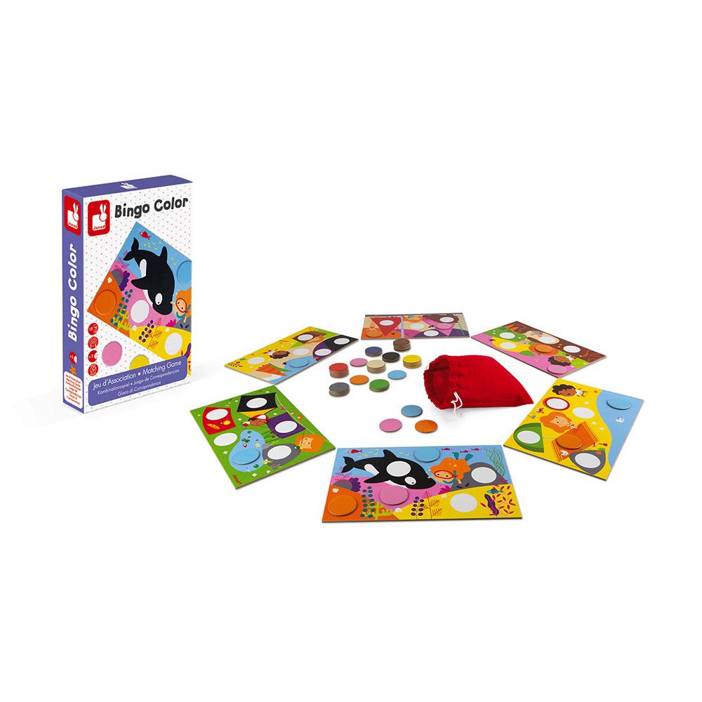 Hra pro děti Bingo Janod